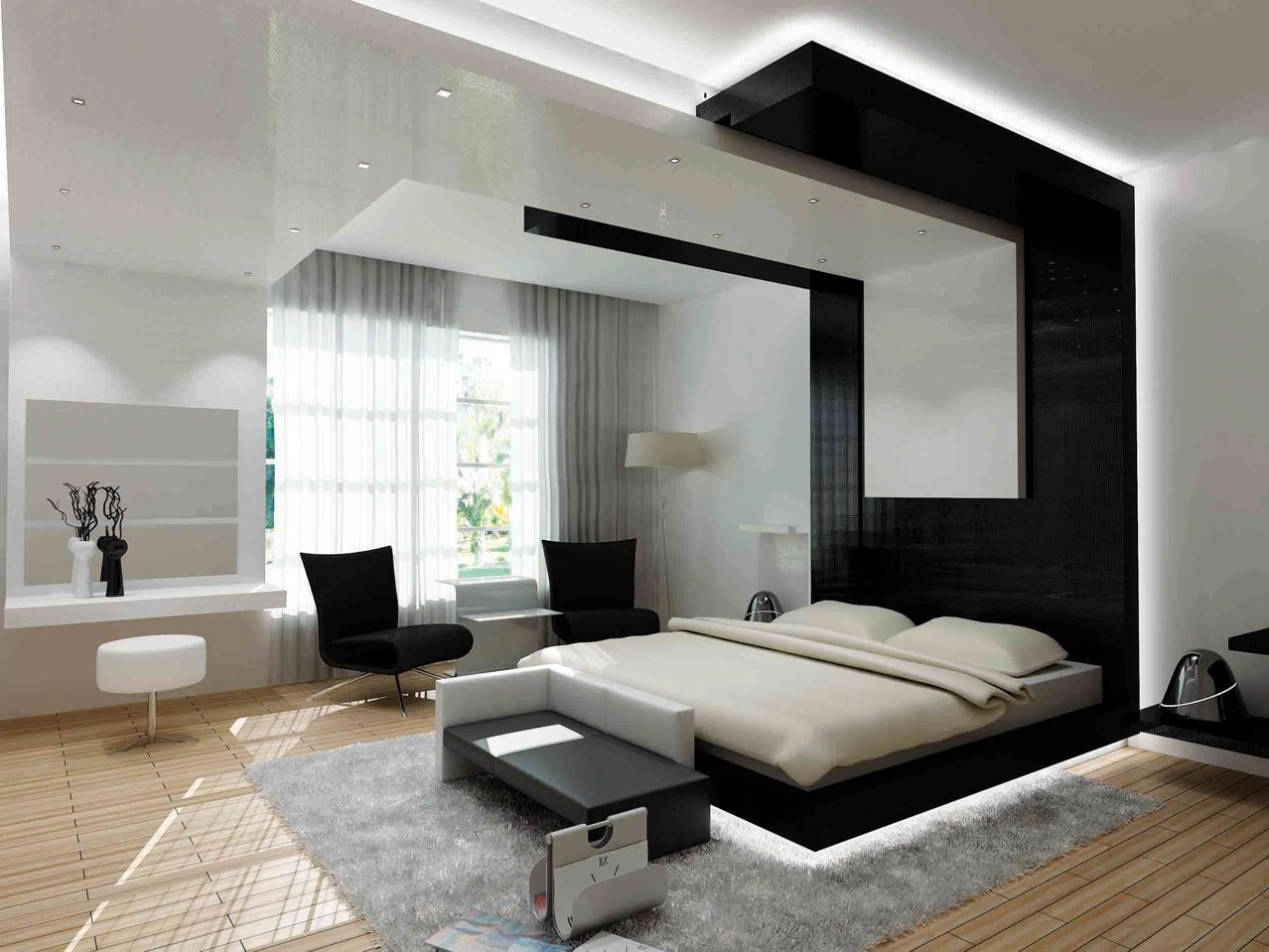 modern bedroom designs for small rooms | design pics