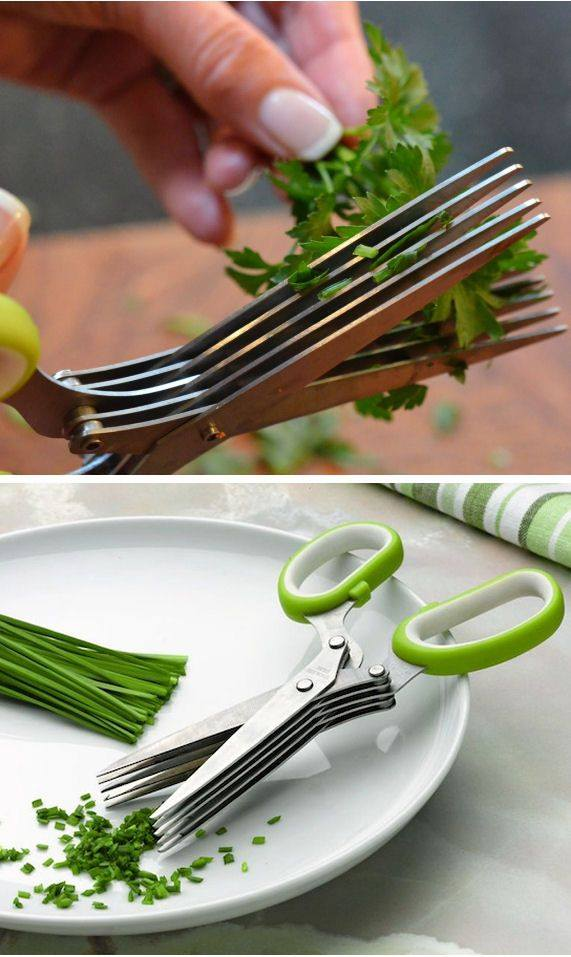 Five-blade Herb Scissor