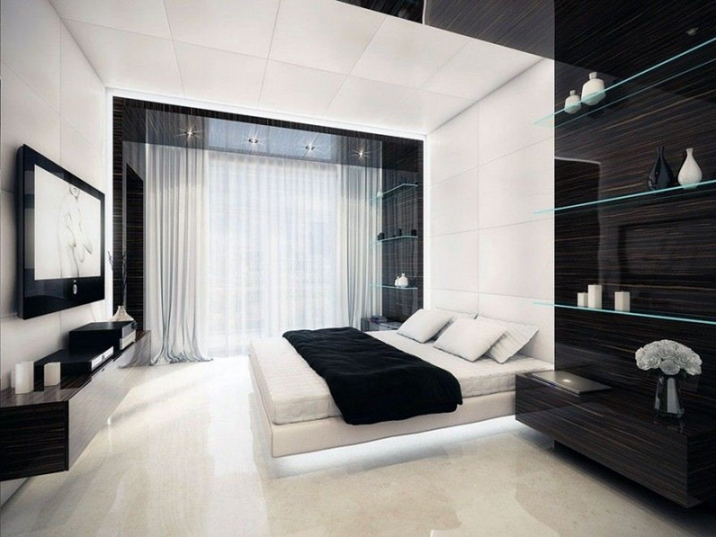 ... Inspiration For Small Modern Bedroom Design Idea