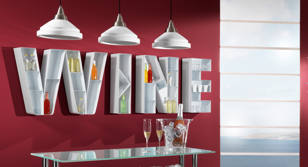 Wine Rack Great Idea For Your Kitchen