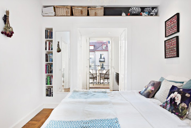 Simple And Beautiful White Bedroom Design