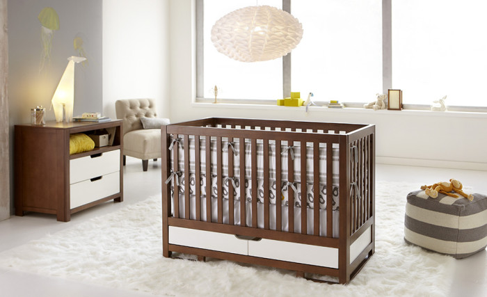 Simple And Functional Baby Cribs Ideas
