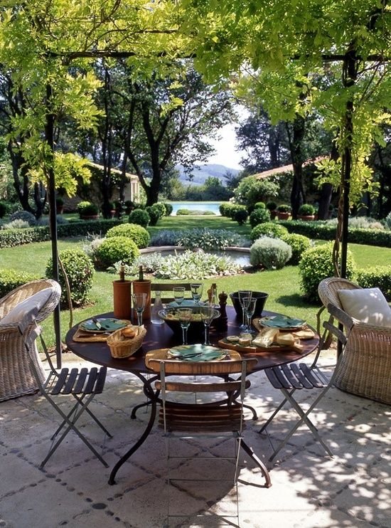 Beautiful And Great Outdoor Table