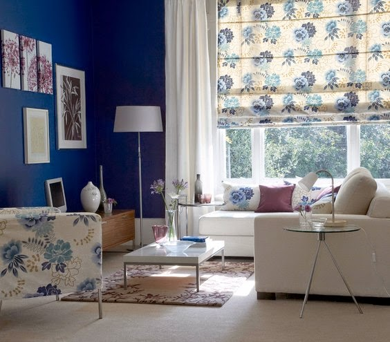Beautiful Blue Modern Living Room For Your Home