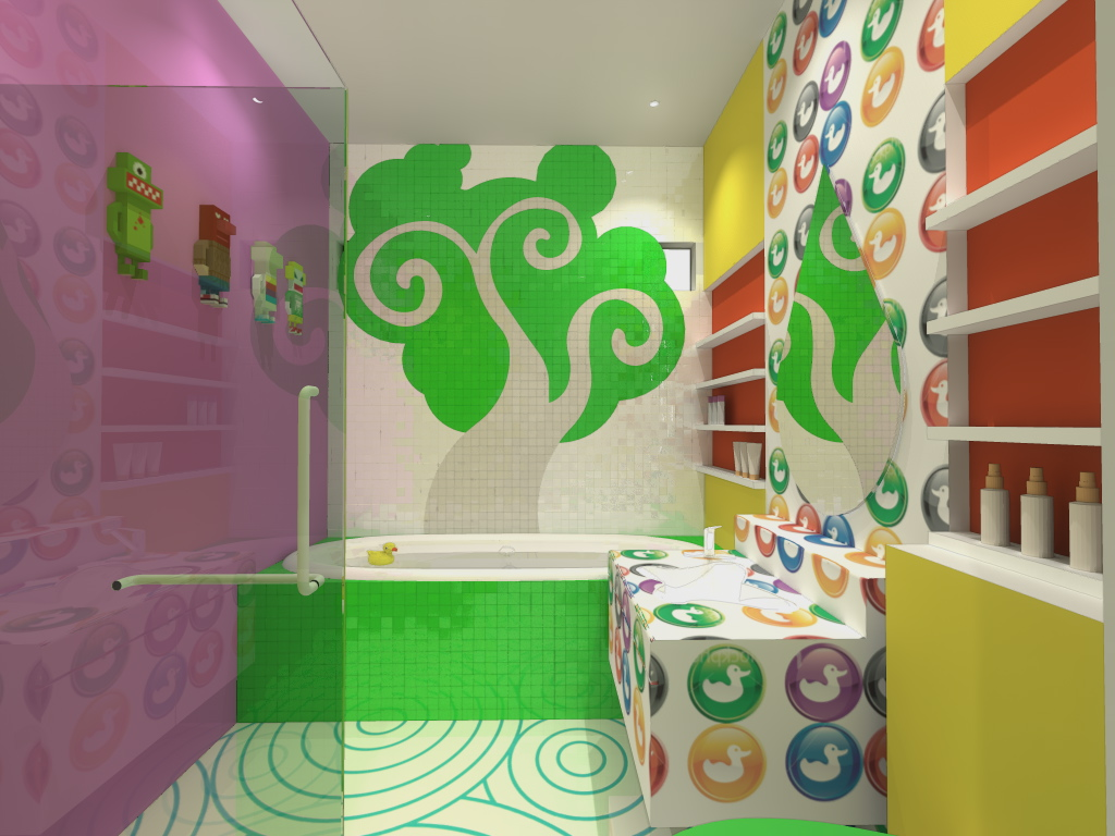 kids bathroom design ideas to brighten up your home | design pics