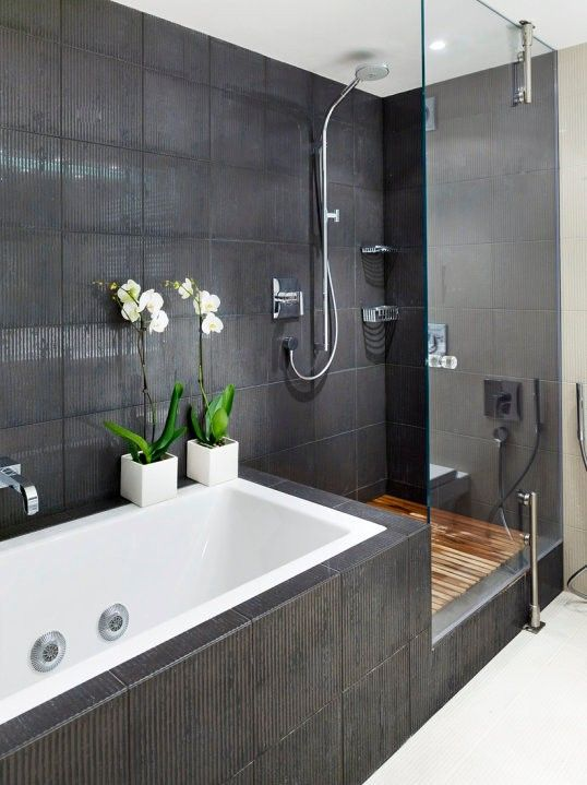 Contemporary Bath And Shower Idea