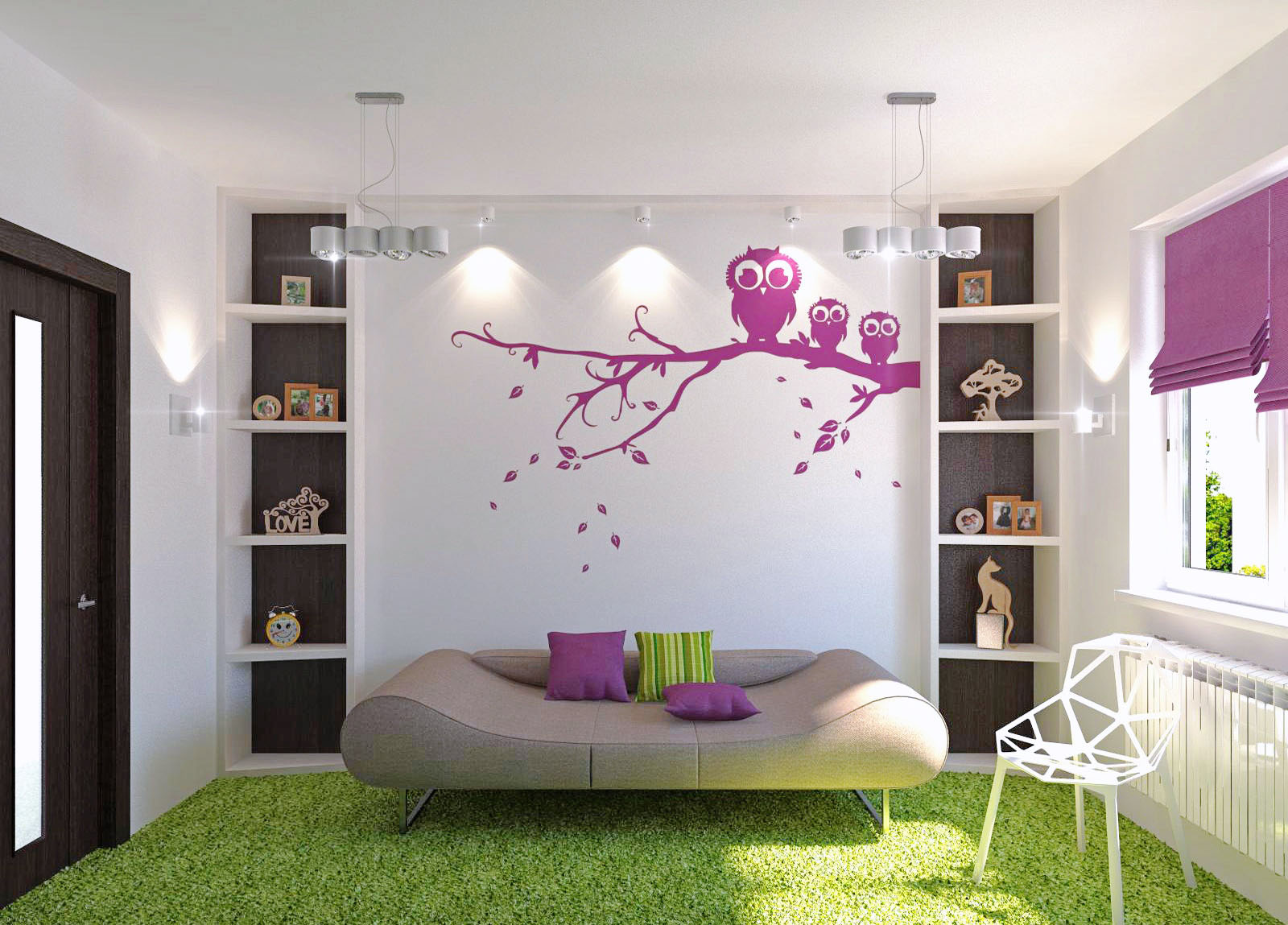 Cool Pink And Green Girls Bedroom Ideas For Kids Bedroom