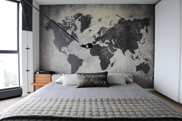 Glamorous Cool Bedroom Wall Painting. Contemporary Modern Wall Decor For Bedroom   Design Pics