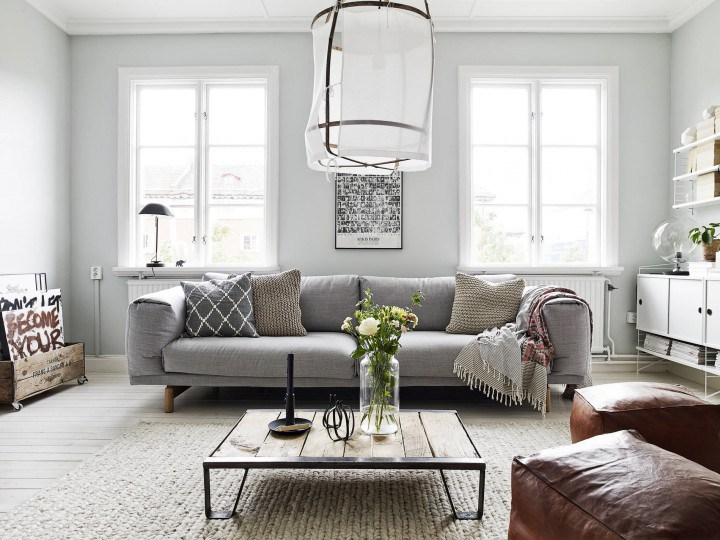 Modern Apartament with Rustic Accents For Your Home Design Pics