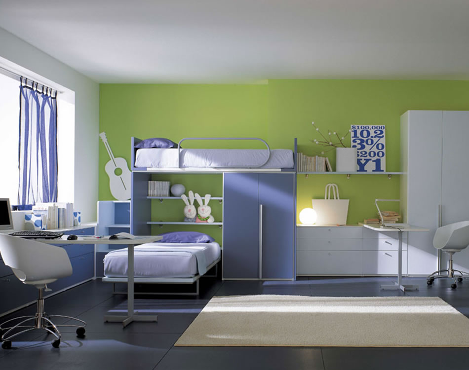 modern kids room home decor picture - Kids Room Design Ideas