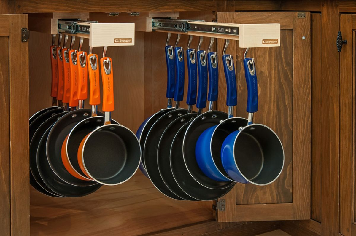 Smart Stylish Kitchen Storage Systems For Pots And Pans
