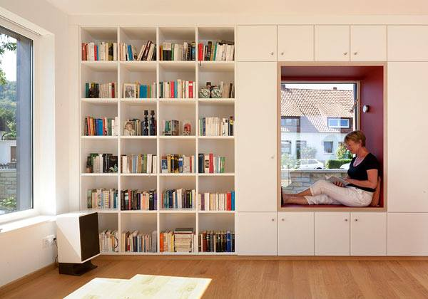 Stylish Modern Library For Your Contemporary Home