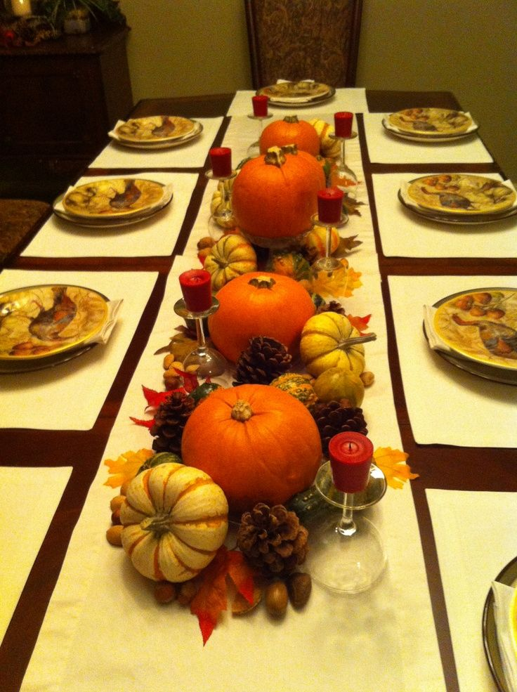 Amazing diy decorations for thanksgiving design pics Thanksgiving table decorations homemade