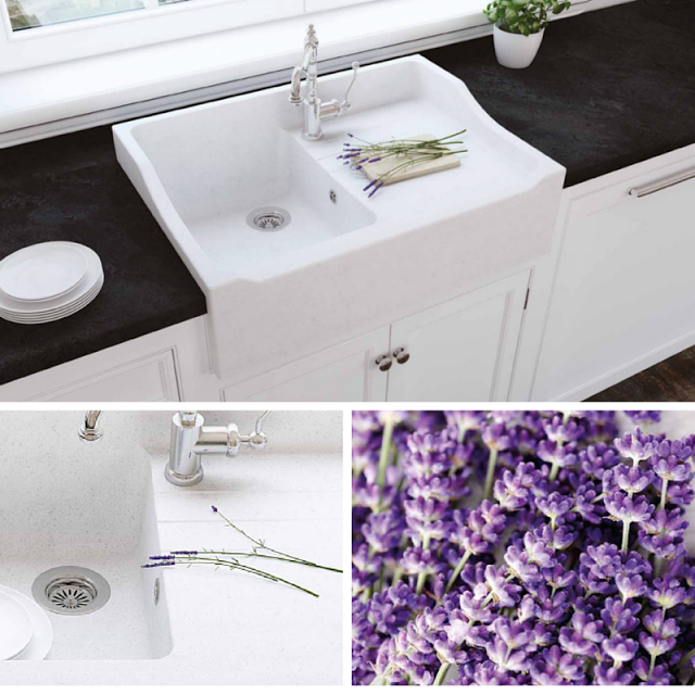 Modern White Farmhouse Kitchen Sink For Black And White Kitchen