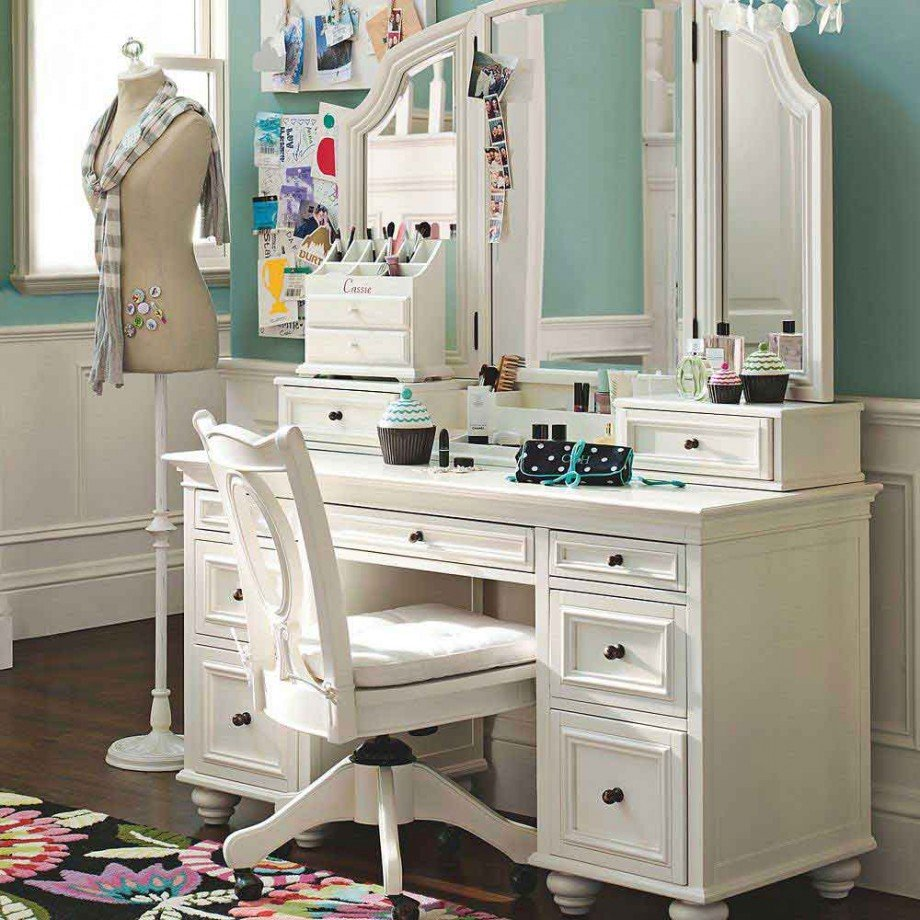 amazing bedroom vanity table and chair ideas | design pics