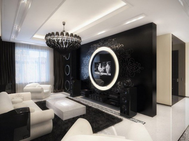 Superb ... Living Room Black And White Part 30