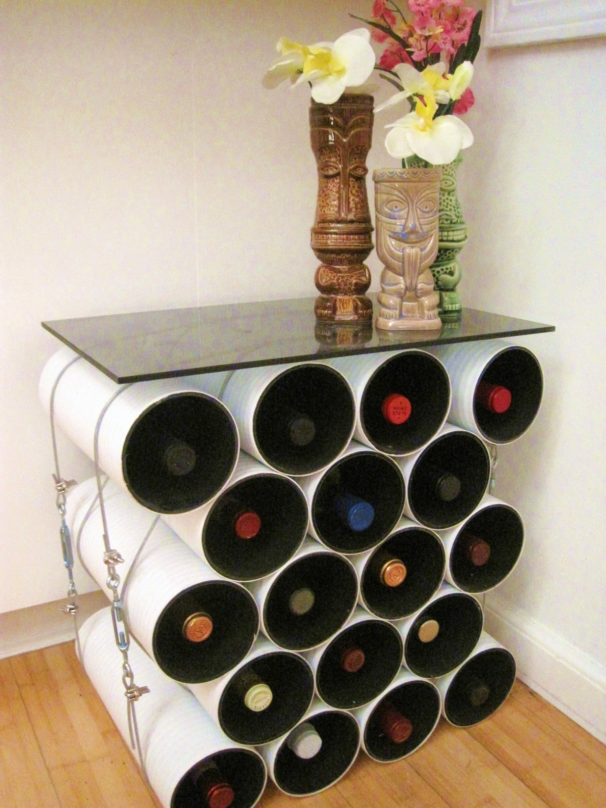 Modern Wine Rack Ideas For Your Home Design Pics   Rack Design For Home Part 46