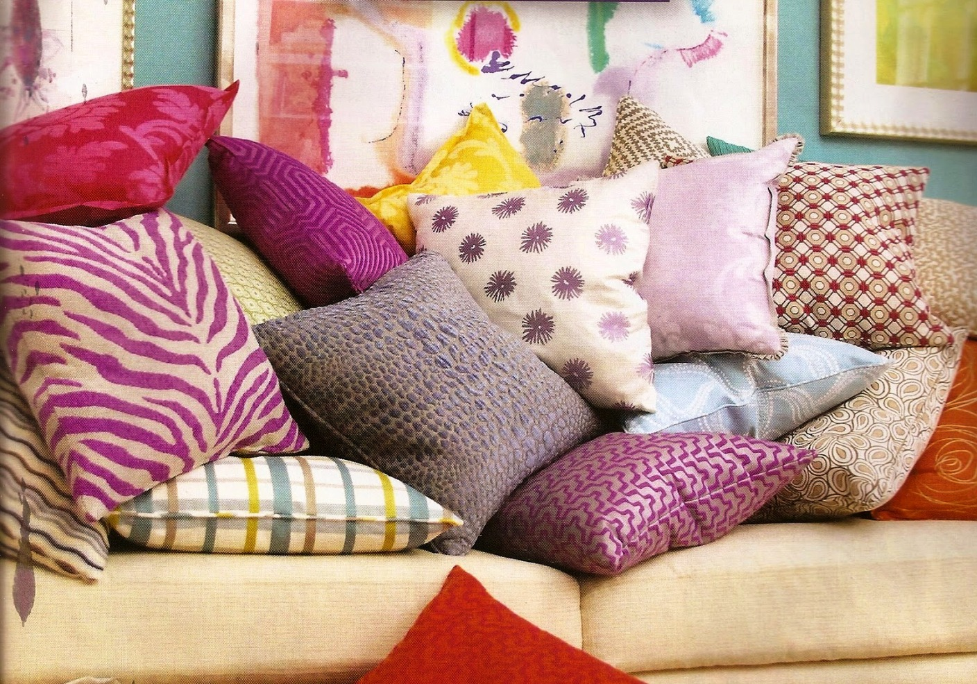 Colorful Modern Decorative Pillows For Your Home