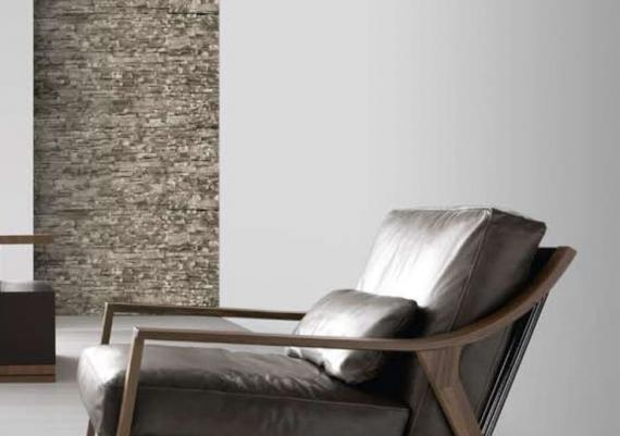 Glamorous Silver Leather Armchair For Divas