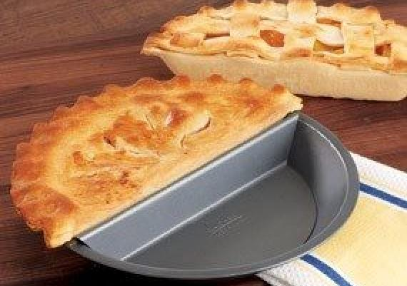 Split Pie Pan - Make Half Or Two Types Of Pie
