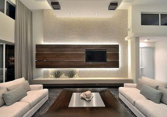 Great Idea To Integrate Your LED TV In Your Home