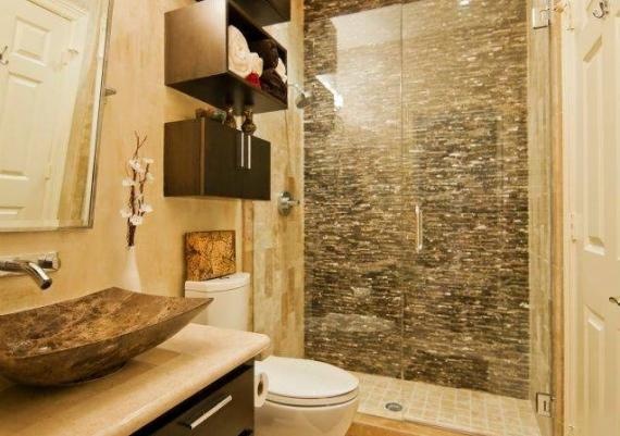 Contemporary Small Shower Idea For Your Bathroom