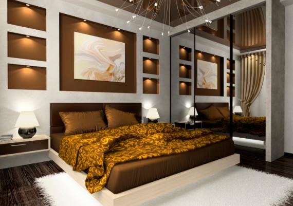 Wonderful Modern Inspirational Bedroom Decoarting Ideas