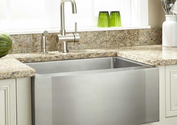 Big Stainless Steel Farmhouse Kitchen Sink