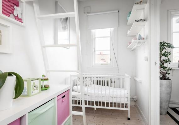 All White Nursery Room For Your Home