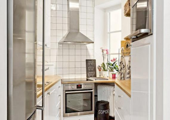 White, Brown And Gray Kitchen For Your Home