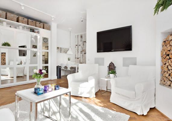 Decorating Your Apartment In White
