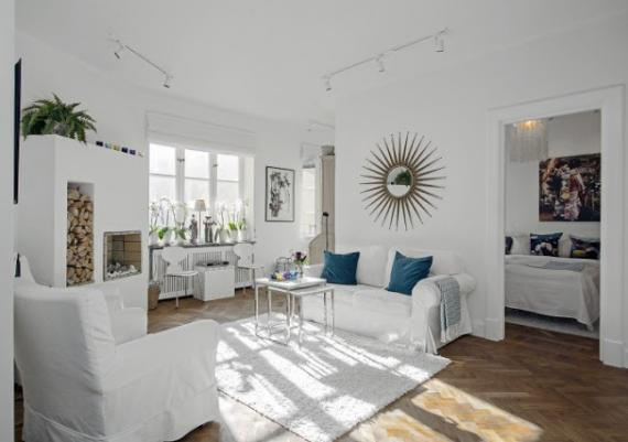 Beautiful White Living Room Decorating Ideas