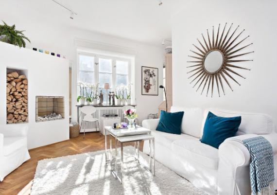Great Ideas For Decorating Your White Living Room