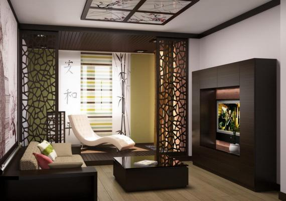 Amazing And Inspiring Zen Japanese Living Room And Furniture Ideas