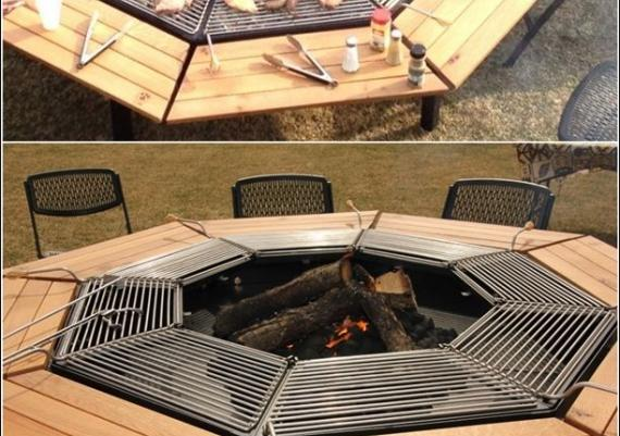 Awesome Jag Grill BBQ Table