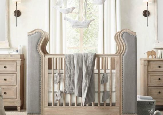 Using Grey For Your Baby Crib Design