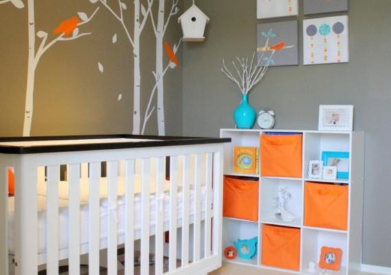Stylish And Modern White Baby Cribs Ideas