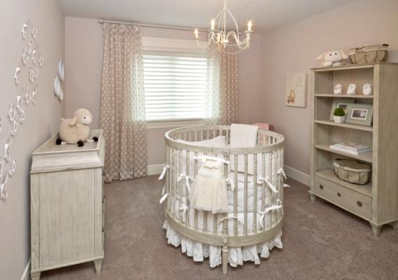 Modern Round Baby Cribs Design For Your Kid