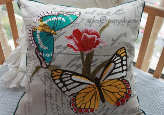 Beautiful Decorative Butterfly Pillow for Your Home