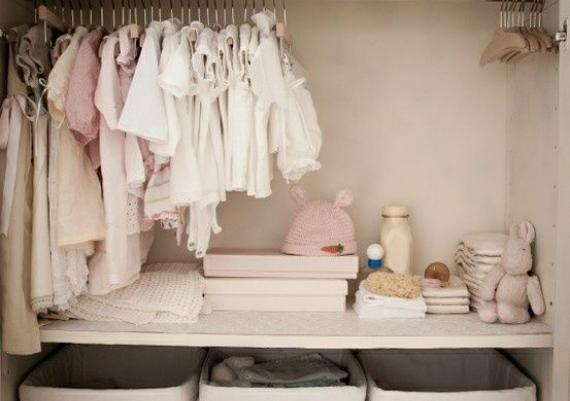 Beautifully Organized and Inspiring Closets For Babies