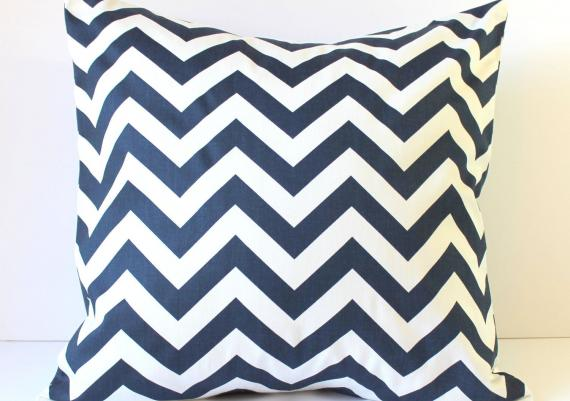 Beauty Decorative Pillow Design Color Blue And White