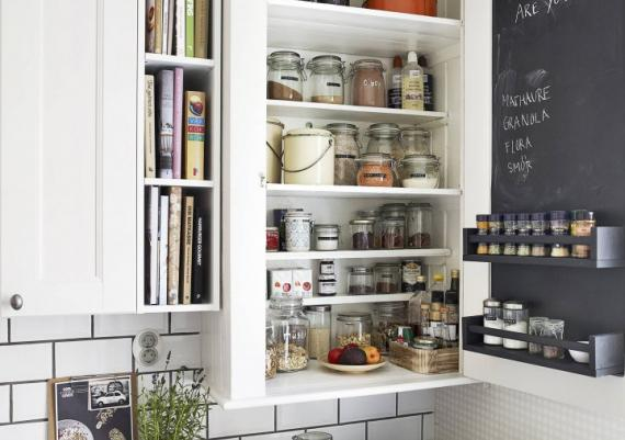 Chic And Organized Modern With Rustic Accents Kitchen