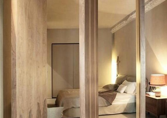Clever Wood Sliding Doors For Bedroom