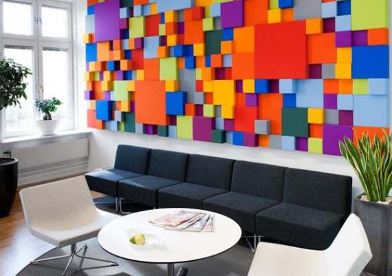 Colorful Inspirational Wall Art Ideas For Living Room
