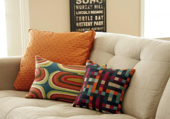 Colorful Sofa Pillows For Your Living Room