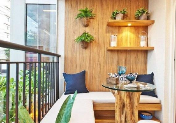 Comforting Small Balcony Design Idea For Your Home