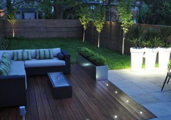 Contemporary Patio Small Design, Pictures, Remodel, Decor and Ideas