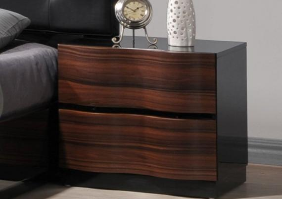 Inspiring Brown Contemporary Nightstand For Your Bedroom
