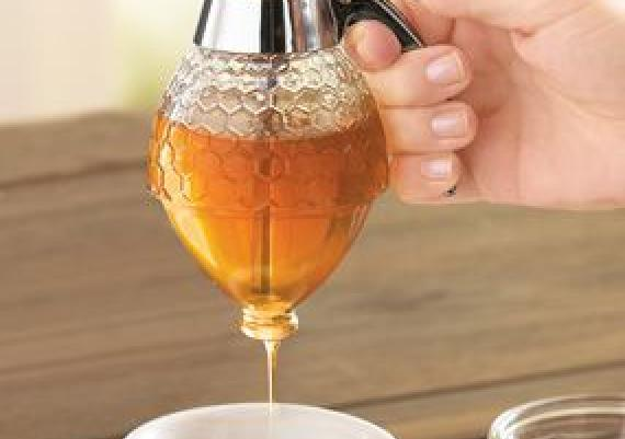 Cool And Helpful Honey Dispenser
