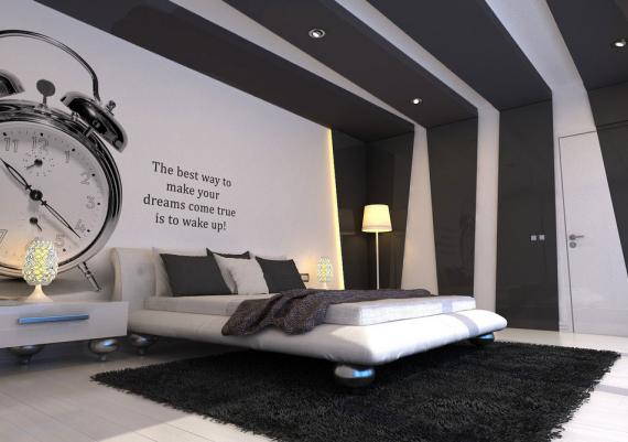 Cool Bedroom Idea For Decorating Your Walls